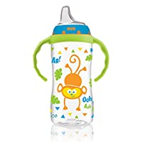 NUK Large Learner Sippy Cup, Blue Jungle Designs, 10 oz 1pk
