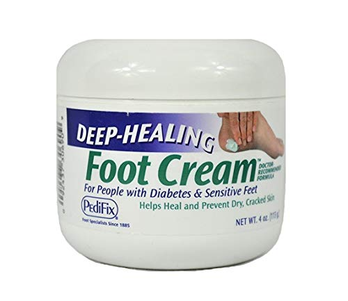 Pedifix (a) Deep Healing Foot Cream 4oz Jar