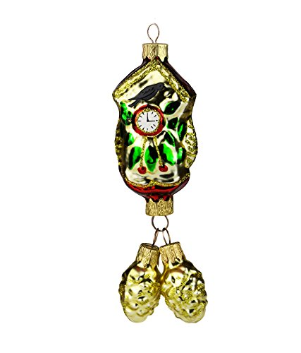 Wise Elk Hand-blown Hand painted Christmas Ornament form Cuckoo - Clock Elk Cuckoo