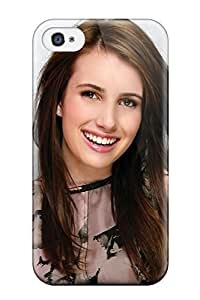 Hot TIpsBGG7219eCBBs Emma Roberts?wallpaper Tpu Case Cover Compatible With Iphone 4/4s