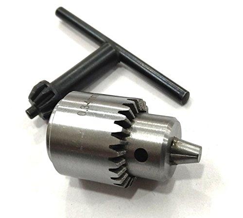 Key Type JT0 Micro Drill Chuck 0.3 -4.0 mm for Micro Drill Adaptor, Mill, Lathe ()