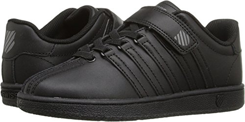 K-Swiss Kid's Classic VN VLC Shoe, Black/Black, 13 M US Little Kid (Kswiss Casual Kids Shoes)