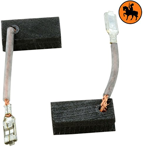 Carbon Brushes for BOSCH GWS 7-115 sander -- 5x10x17mm -- 2.0x3.9x6.7'' -- With Automatic Stop Buildalot