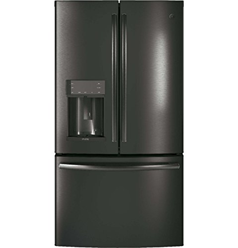 GE Profile Black Stainless Steel French Door Refrigerator (Refrigerator Profile Steel Stainless Ge)