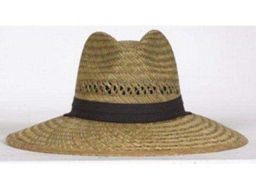 - Dorfman Tm388 Big Brim Rush Straw Adjustable Hat (Pack of 12)