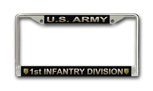 MilitaryBest U.S. Army 1st Infantry Division License Plate ()