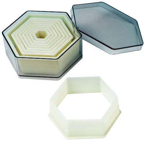 Fat Daddio's 9-Piece Hexagon Nylon Cutter Set