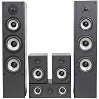 Quadral QUINTAS 6500 II schwarz, Lautsprecher-Set 5-teilig
