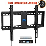 Mounting Dream TV Mount with Post Installation Adjustment for Most 37-70'Tvs, TV Wall Mount with Max VESA 600x400mm, Weight Up to 132 lbs, Fixed Low Profile TV Wall Mounts Fit 16' - 24' Wood Studs
