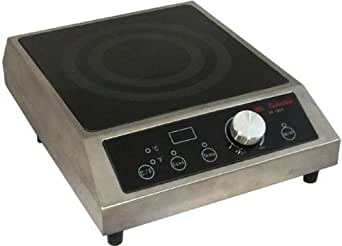 1800W Commercial Counter Top Induction Range Cooktop Restaurant Smart Scan LED