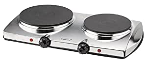 Brentwood Ts-372 1,440-watt Electric Double Hot Plate (BrentwoodTS-372)