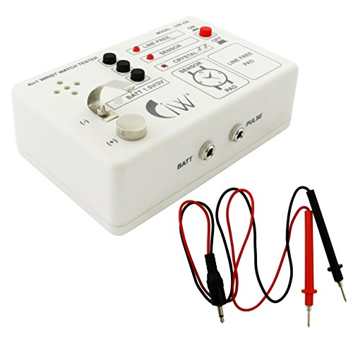 Jewellers Tools 4 in 1 Quartz Watch Tester Release Cell Circuit Test Watchmakers Repair Tool.