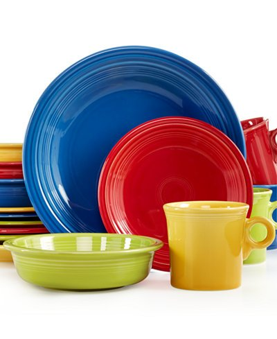 Fiesta Mixed Bright Colors 16-Piece Set Service for 4  sc 1 st  Amazon.com & Amazon.com | Fiesta Mixed Bright Colors 16-Piece Set Service for 4 ...