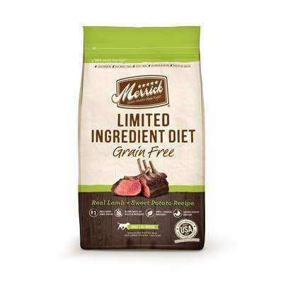 Merrick Limited Ingredient Diet Grain Free Lamb & Sweet Potato Adult Dog Food 4 lbs.