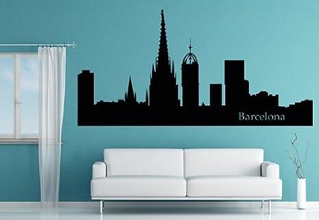 Adhesivo decorativo para pared, diseño de horizonte de ...
