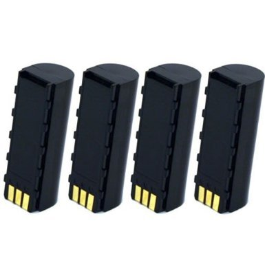 Titan High Rate 4 Pack Replacement Batteries for Symbol 21-62606-01, BTRY-LS34IAB00-00, DS3478, LS3478, LS3578 Barcode Scanners
