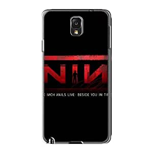 Marycase88 Samsung Galaxy Note3 Shockproof Hard Cell-phone Cases Provide Private Custom Colorful Nine Inch Nails Band Image [hLR408vPuB]