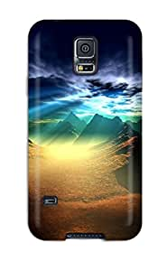 Galaxy S5 Case Cover - Slim Fit Tpu Protector Shock Absorbent Case (cool Screensavers)
