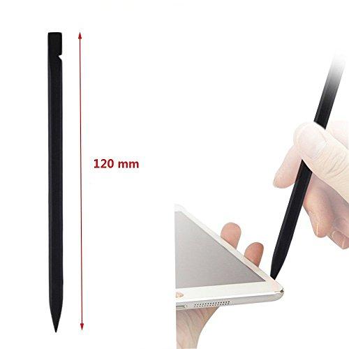10 unidades Universal Black Stick Spudger kit de herramientas de apertura con palanca para iPhone Teléfono móvil Tabletas iPad MacBook Ordenador portátil Reparación de PC