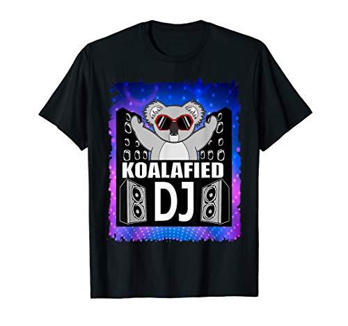 Disk Jockey Apparel Funny DJ Player Meme Shirt Qualified DJ  T-Shirt
