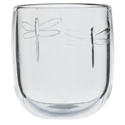 - La Rochere Set Of 6,9.5-ounce Dragonfly  Tumblers
