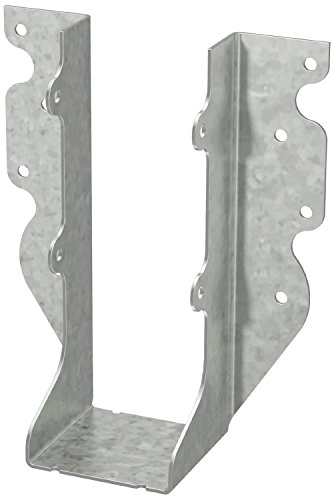 Simpson Strong Tie U26R  2-Inch by 6-Inch Rough Face Mount Hanger (Galvanized Bracket U)