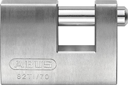 Abus 82TI/70 Monoblock Vorhangschloss aus Titalium-Spezialaluminium, 24673
