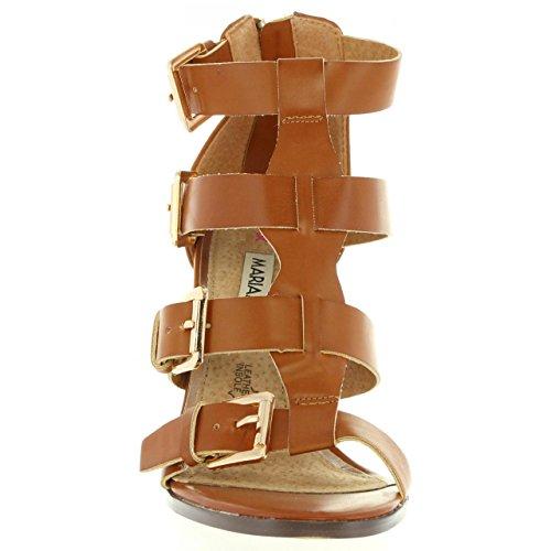 Sandalias de Mujer MARIA MARE 65730 CUERO