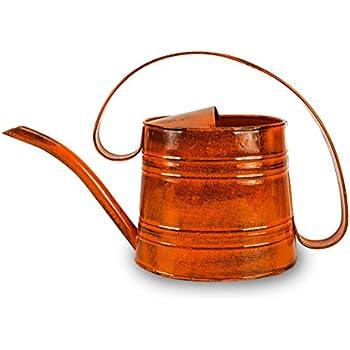 marvelous robert allen home and garden. ROBERT ALLEN MPT01506 Danbury Metal Watering Can  Tango Orange Amazon com