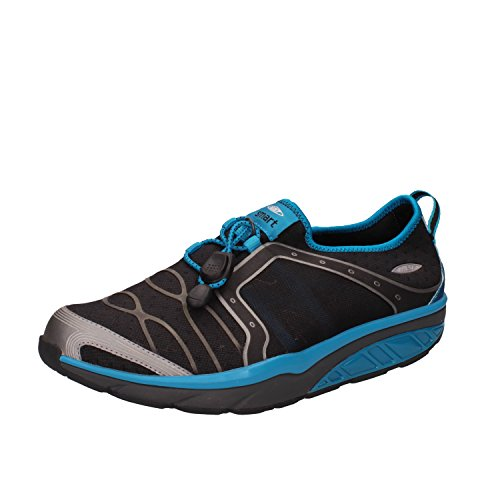 MBT Sneakers Men 8/8.5 US / 42 EU Black Blue Textile