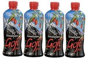 Himalayan Goji Juice - Case of 4 - 1 Liter Bottles by FreeLife, Inc. *SHIPS SAME DAY *FREE US SHIPPING
