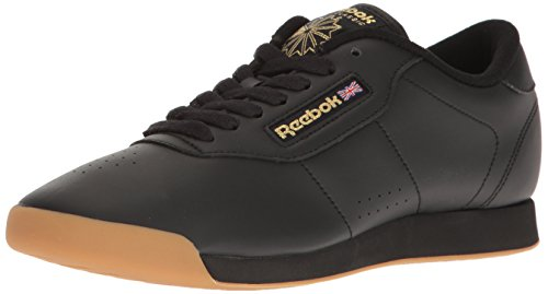 Reebok Womens Princess Sneaker Black / Gum