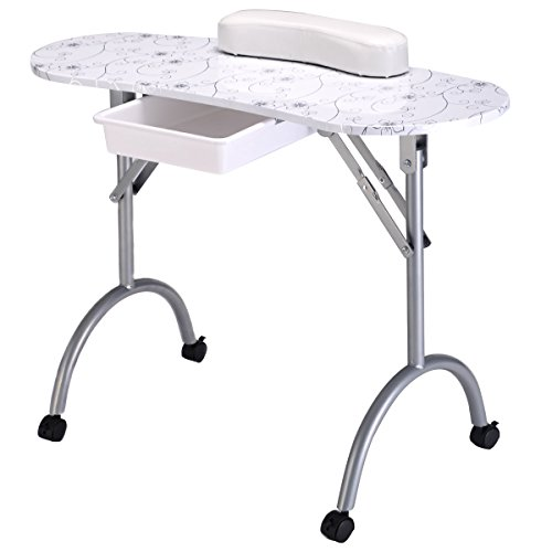 Giantex Portable Manicure Station Equipment