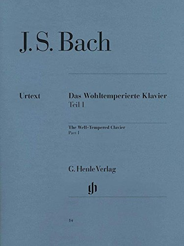 Bach: The Well-Tempered Clavier - Book 1, BWV 846-869