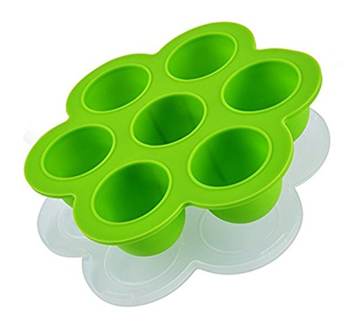 Sillicone Egg Bites Mold, Baby Food Storage Container And Freezer Tray With Lid, Suitable For Instant Pot Pressure Cooker by HandyThings