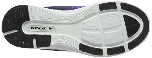 Gola Vallis, Zapatillas de Running para Mujer Morado (Purple/Black)