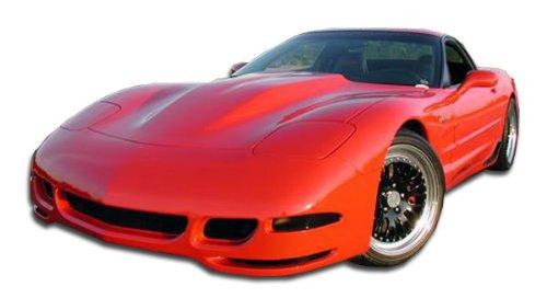 Duraflex Replacement for 1997-2004 Chevrolet Corvette C5 TS Concept Front Bumper Cover - 1 Piece Corvette Front Bumper Cover