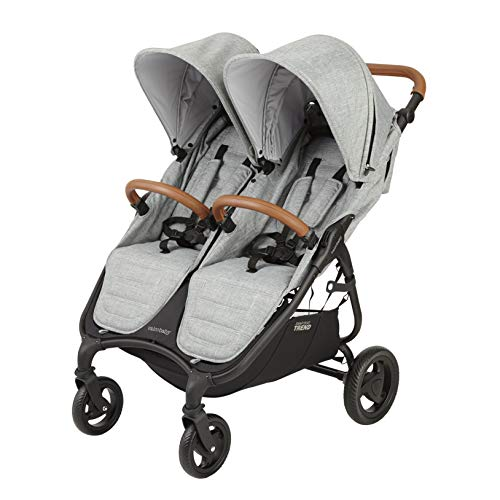 Valco Baby Snap Duo Trend Light Weight Double Stroller 2019 (Grey)
