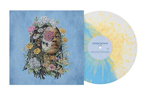 Ivy Sole ‎- Overgrown Exclusive Edition [Light Blue / Clear Vinyl With Yellow Splatter]