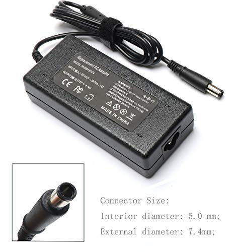 90W AC Adapter Power Supply Cord Laptop Charger for HP Pavilion Dv4 Dv6 Dv7 G50 G60 G60T G61 G62 G72 CQ40 CQ45 Cq50 Cq57, EliteBook 2540p 2560p 2570p 2730p 2740p Probook (Windows 7 Pavilion Dv6)