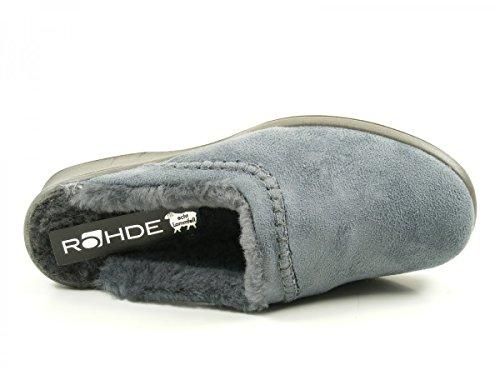 Rohde Femme Chaussons Grau Mules 2510 ap0cwXq0B