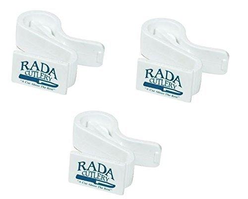 Rada Cutlery Quick-Grip-Clip, 3 Pieces