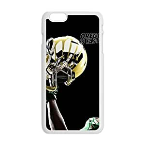 Cool Painting oregon ducks football uniforms Phone Case for Iphone 6 Plus