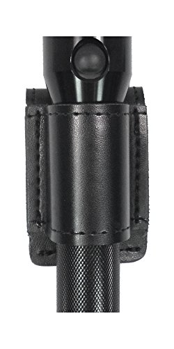 Gould & Goodrich K676-2 Flashlight Holder, Black, Size 2