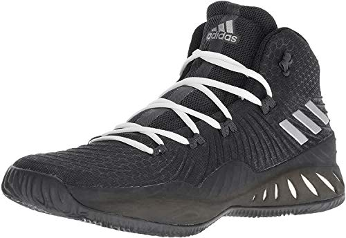 adidas Men's Crazy Explosive 2017 Core Black/Silver 11 D US D (M) (New Adidas Basketball Shoes)