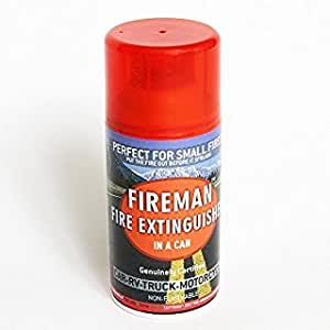 Fireman in a Can - Mini Fire Extinguisher for Home