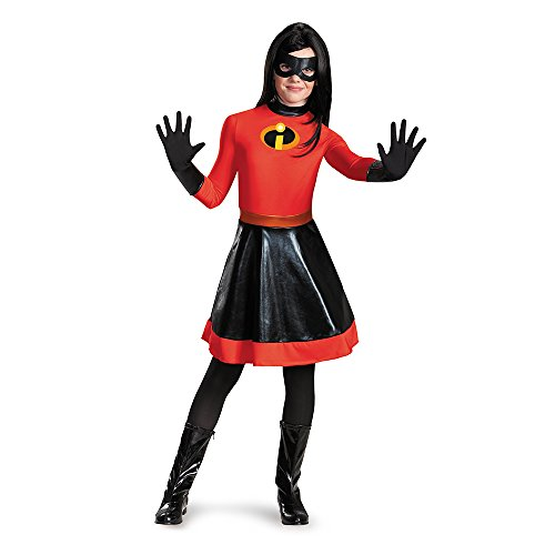 [Disguise 86244K Violet Tween Costume, Medium (7-8)] (Disney Group Costumes Ideas)