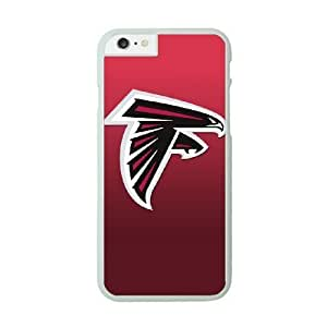 iPhone 6 White Cell Phone Case Atlanta Falcons NFL Durable Personalized Phone Case Cover NLYSJHA1755