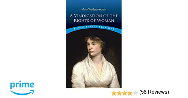 a vindication of the rights of women essay a vindication of the rights of women essay