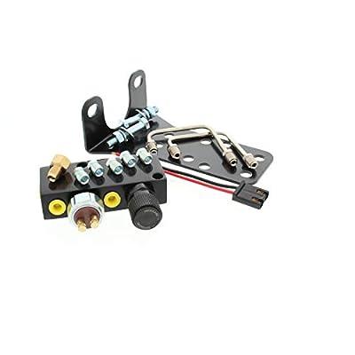 Adjustable Proportioning Valve Block, Brake Distribution System, Black: Automotive